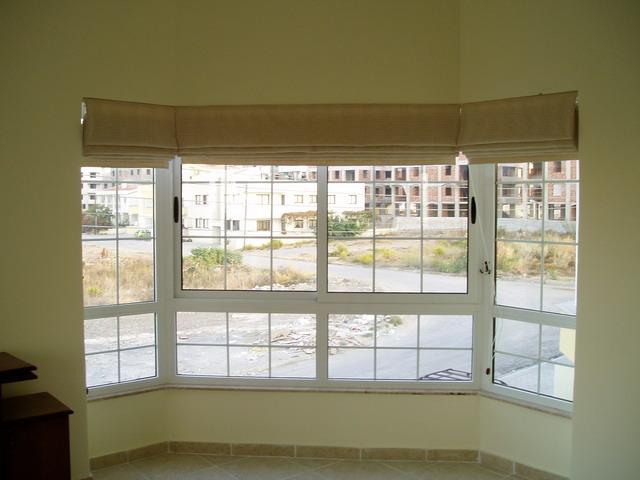 Roman for Roman shades for bay window